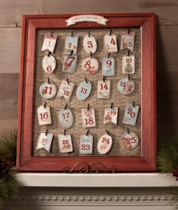 My Minds Eye Barnwood Frame Advent Countdown