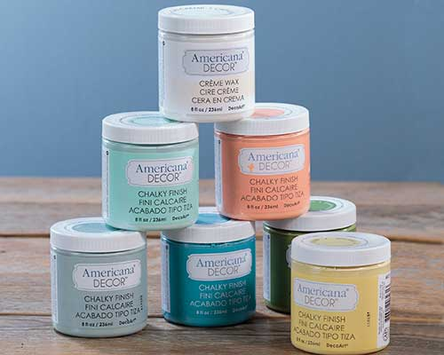 Americana Decor Chalky Paint Available In 29 Colors