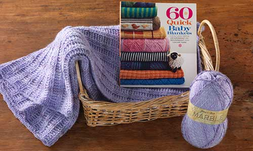 60 Quick Baby Blankets Book - Craft Warehouse