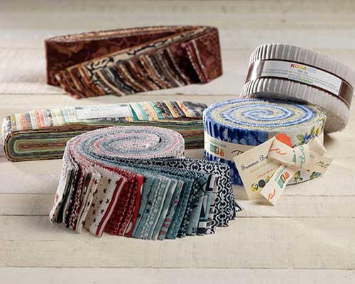 Jelly Rolls & Bali Pops Precut Fabric