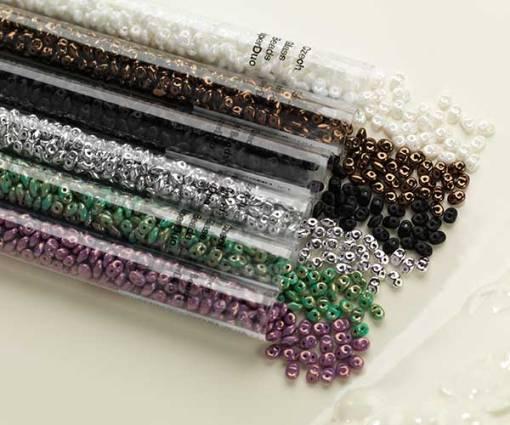 DUO Glass Beads