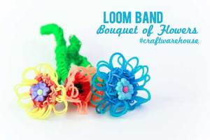 Loom Magic Xtreme! Loom Band Flower Bouquet