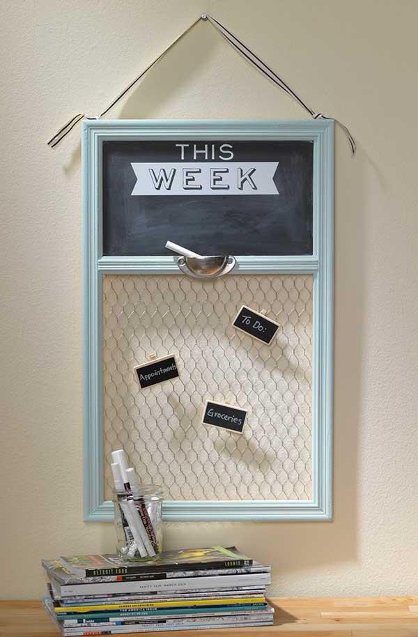This Week Chalkboard Message Board