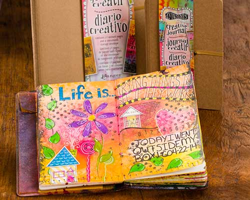 Dylusions Creative Art Journal