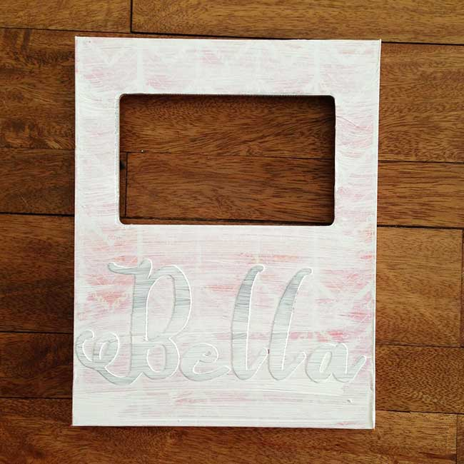 Hazel And Ruby Handmade DIY Frame