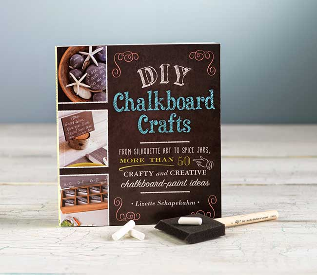 DIY Chalkboard Books