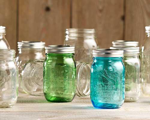 Canning Mason Jars in Pints and Quarts at Craft Warehouse