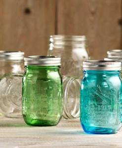 Canning Mason Jars in Pints and Quarts at Craft Warehouse