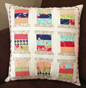 Miss Kate Quilted Pillow