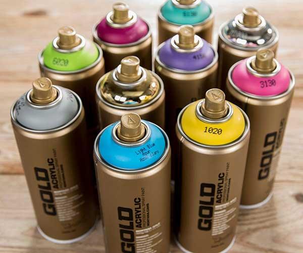 Montana Gold Spray Paint