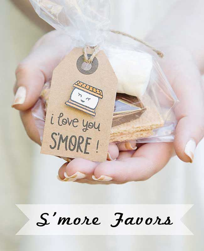 Lawn Fawn S'more Party Favors