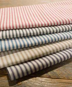 Cotton Woven Ticking Stripe Canvas