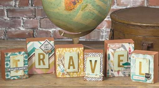 Travel Wooden Block Set