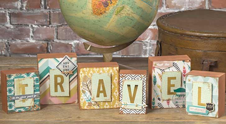 Travel Wooden Block Set