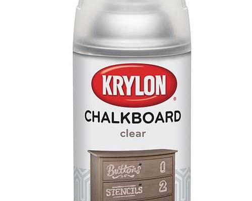 Krylon Clear Chalkboard Paint