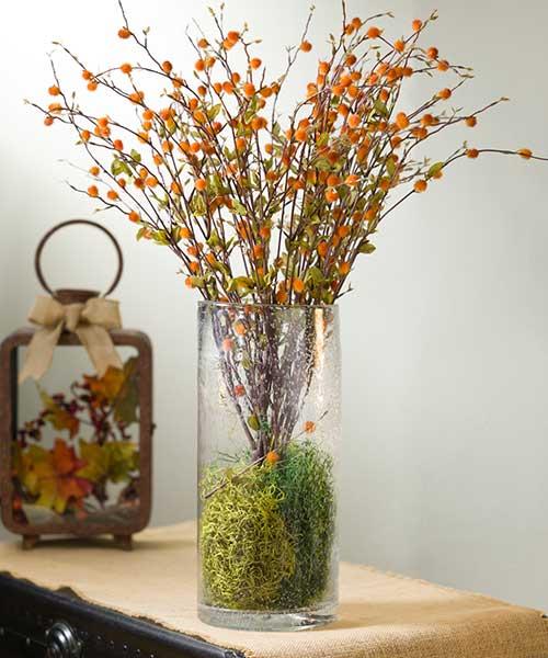 Pom Pom Branch - Floral