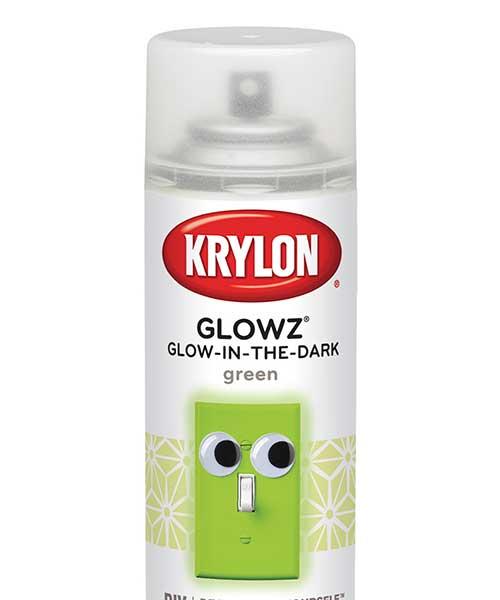 Glowz Green Glow-in-the-Dark Spray Paint