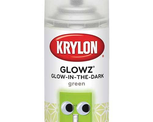 glowz green glow in the dark spray paint. Black Bedroom Furniture Sets. Home Design Ideas