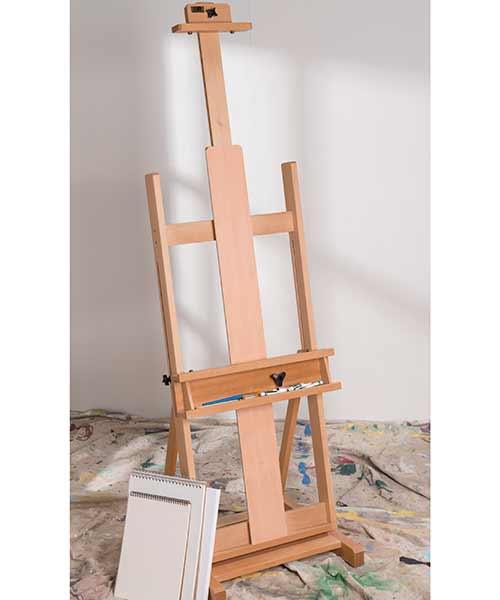 "Mega ""H"" Frame Beech Wood Easel"