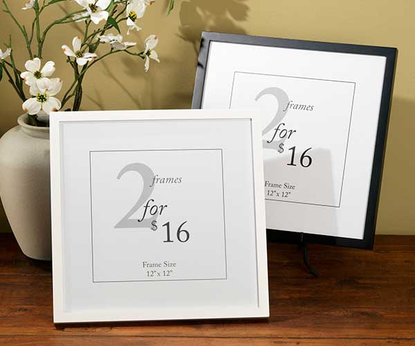 12x12 value frames