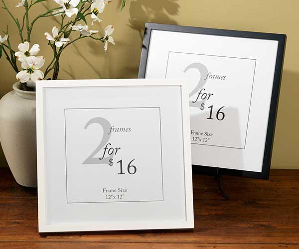 12x12 Value Frames | Craft Warehouse