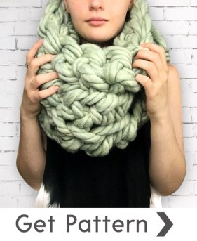 3 Sisters Infinity Scarf Pattern