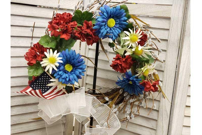 4th of July Wreath @ Meridian Location | Meridian | Idaho | United States