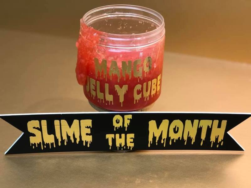 Mango Jelly Cube Slime @ Medford Location | Medford | Oregon | United States