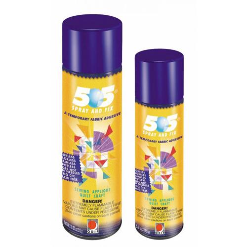 505 Spray and Fix Temporary Fabric Adhesive
