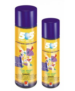 505 Spray and Fix Temporary Fabric Adhesive