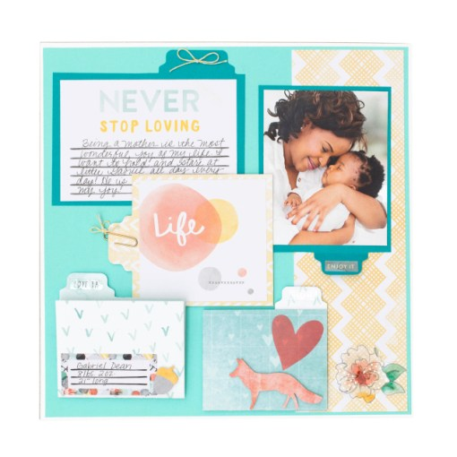 Use the We R Memory Keepers Tab Punch Board for scrapbooks. At Craft Warehouse