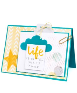 Use the We R Memory Keepers Tab Punch Board for making cards. Available at Craft Warehouse.