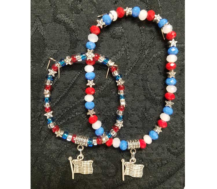 Demo - 4th of July Anklet or Bracelet @ Kennewick Location | Kennewick | Washington | United States