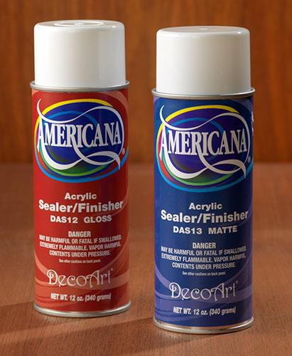 Americana Sealer Finish Glossy and matte
