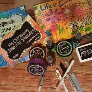 Art Journaling 102 @ Craft Warehouse @ Gresham Station   Gresham   Oregon   United States