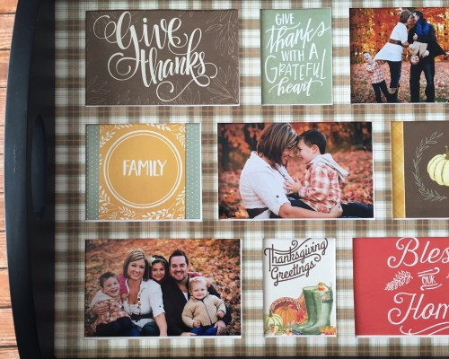 Make an Autumn Gratitude Tray for the Holidays at Craft Warehouse