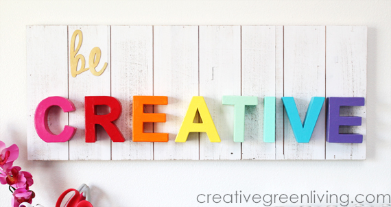 Be Creative Wood Pallet Sign Craft Warehouse