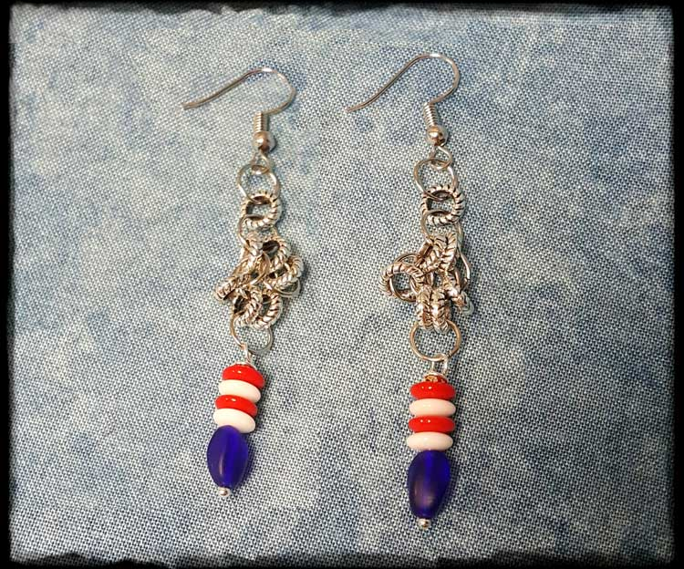Red, White & Blue Earrings @ Meridian Location | Meridian | Idaho | United States