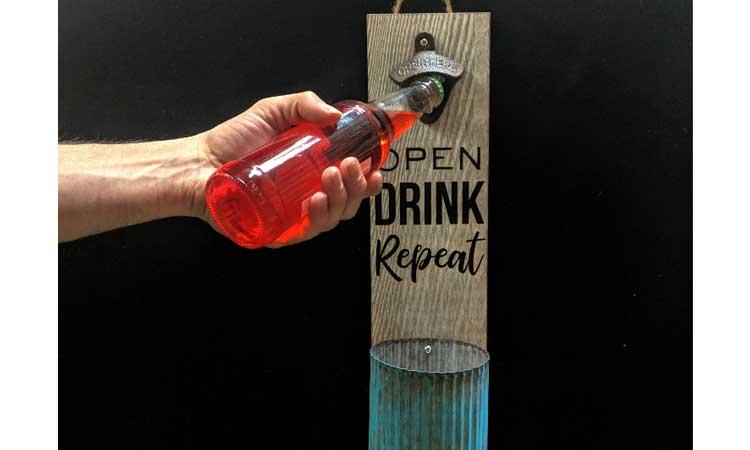 Happy Hour: Bottle Opener Board