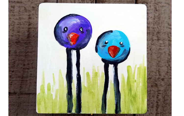 Happy Hour: Bubble Birds Keepsake Box @ Gresham Location | Gresham | Oregon | United States