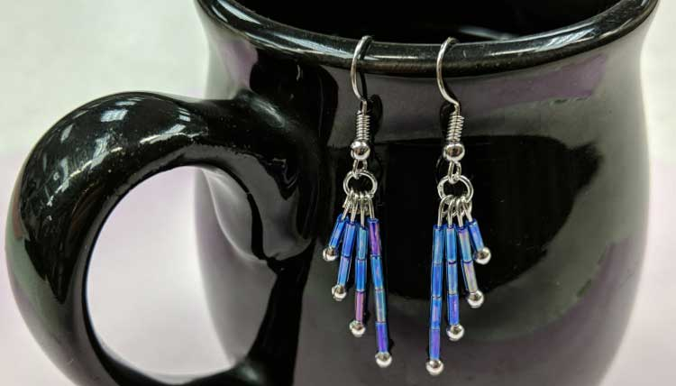 HAPPY HOUR: Bugle Bead Earrings @ Craft Warehouse @ Gresham Station | Gresham | Oregon | United States