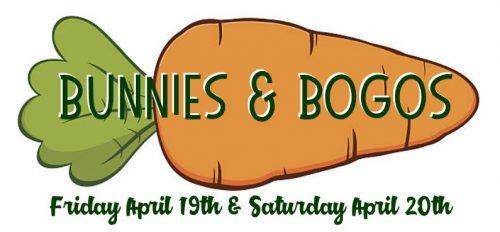 Bunnies & BOGOs - Hazel Dell Only @ Hazel Dell Location | Vancouver | Washington | United States