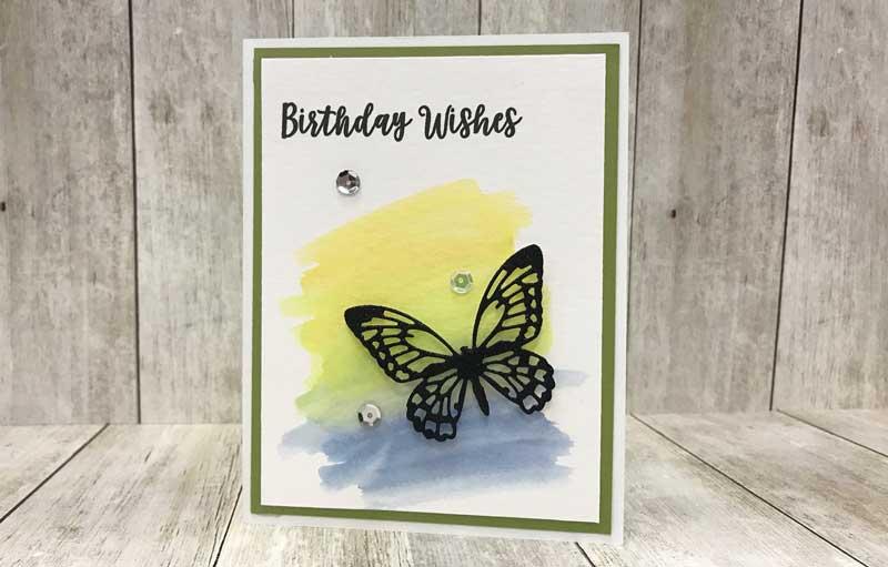 """Birthday Wishes"" Butterfly Card @ Salem Location | Salem | Oregon | United States"