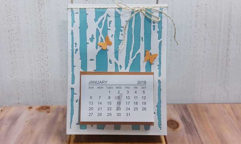 Desk Calendar Make and Take