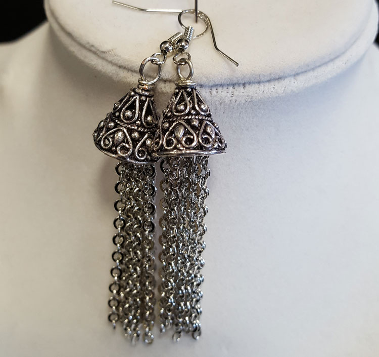 Chain Tassel Earrings @ Gresham Location | Gresham | Oregon | United States