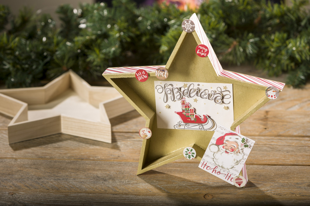 Diy wood star tray craft warehouse