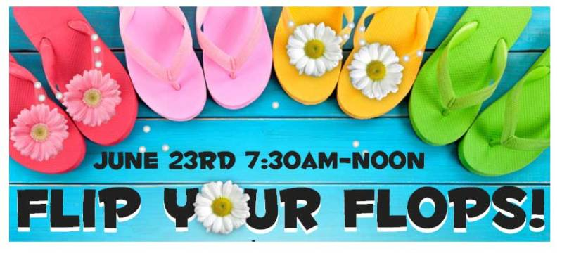 Flip Your Flops Sale @ Beaverton Location | Beaverton | Oregon | United States