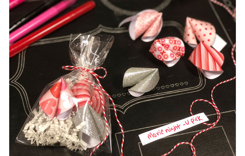"""Fortunes for your Sweetie"" Card Make & Take"