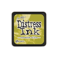 Ranger Tim Holtz disstress ink crushed olive