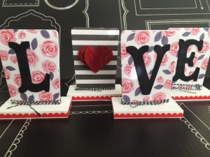 valentines love home decor diy project